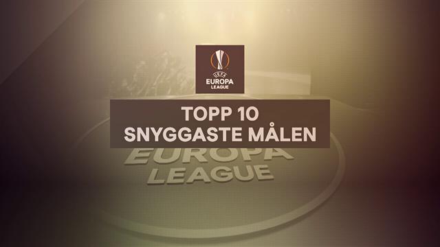 Se de tio snyggaste målen från årets Europa League