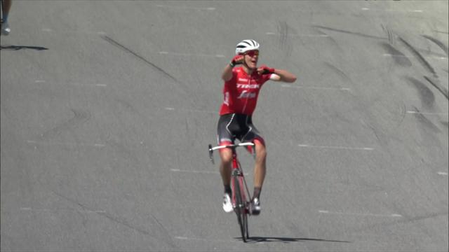 Tour of California: Skujins wins on iconic Laguna Seca Raceway