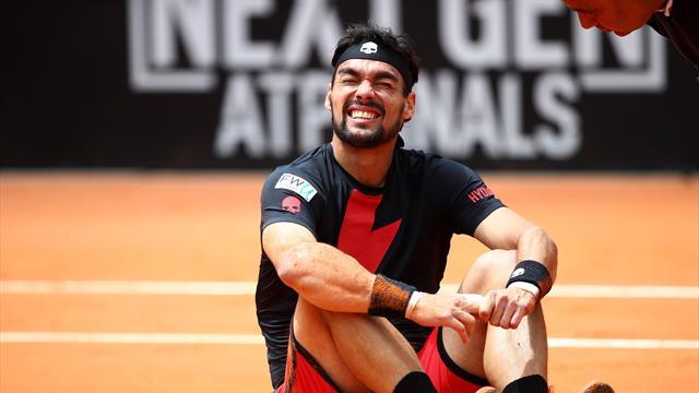 Fognini si arrende ai quarti: Nadal è più forte, in semifinale va Rafa