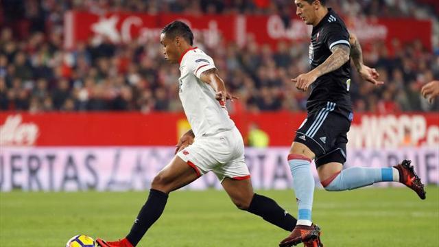 Rubén Blanco y Tucu Hernández se lesionan en el entrenamiento del Celta