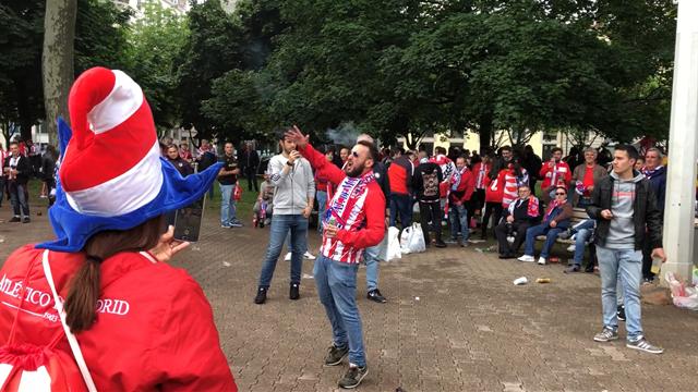 """""""Voy a morir por ti"""" : les fans de l'Atlético donnent de la voix avant d'affronter l'OM"""