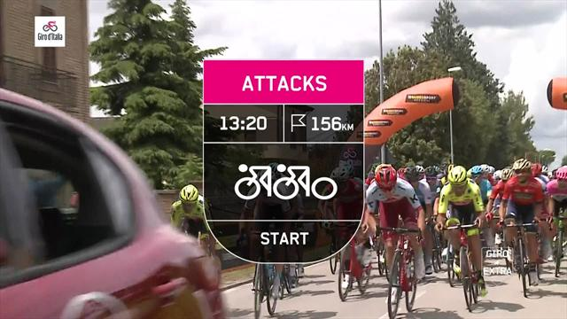 Key Moments, Stage 11: Yates times attack to perfection