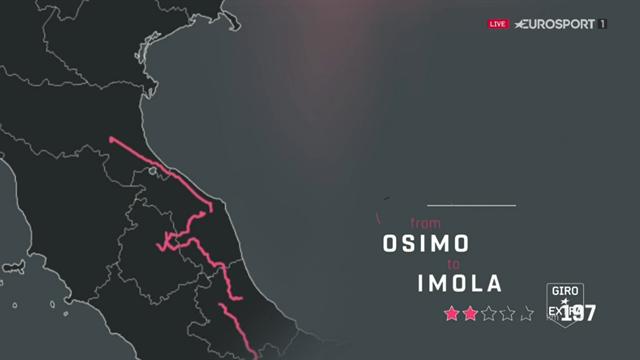 Så körs etapp 12 i Giro d'Italia