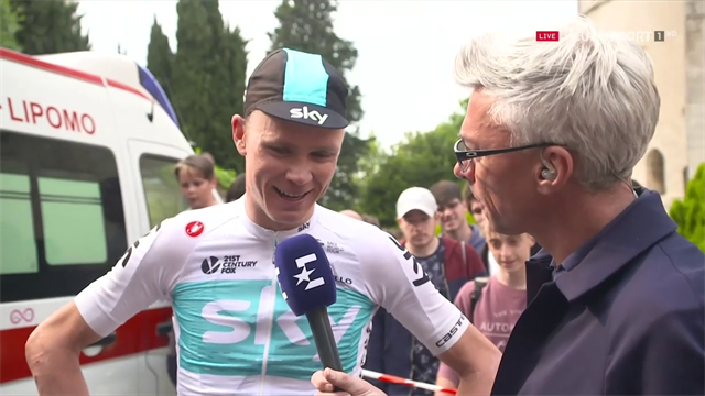 Chris Froome: I'll keep fighting for the Giro