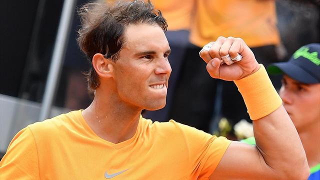 """Nadal recupera el ánimo: """"Tras una derrota era importante volver fuerte y es lo que hice"""""""