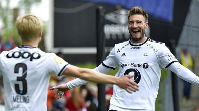 Bendtner endte måltørken etter praktangrep av Rosenborg: – Perfekt!
