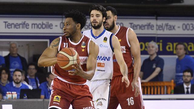 Highlights: gara 3 Openjobmetis Varese-Germani Brescia 64-69 dt1s