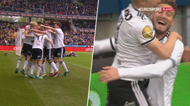 Kliniske Bendtner sender Rosenborg foran