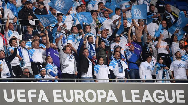 Vingt supporters de l'OM interpellés pendant la finale