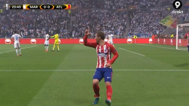 "Atlético tar ledningen via: ""ANTOINE GRIEZMANN!"""