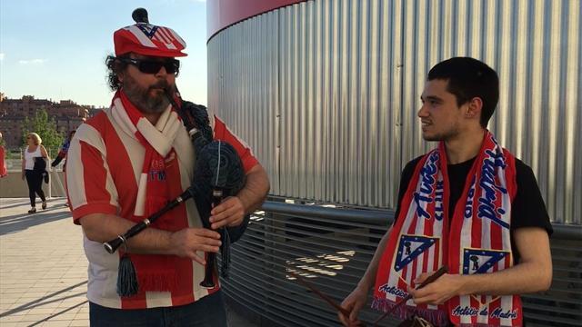 El himno del Atlético como nunca lo habías oído