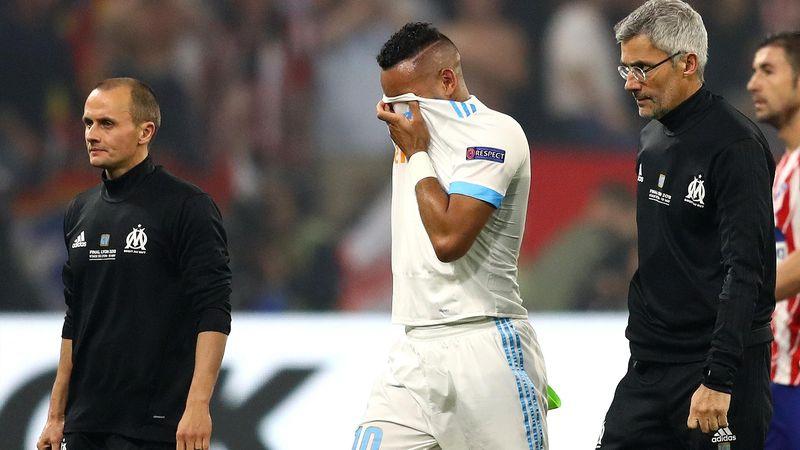 Tränen bei Dimitri Payet: Frankreich-Star verletzt sich im Europa-League-Finale
