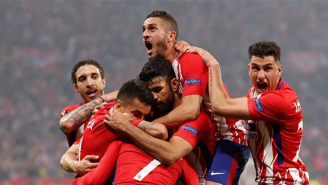 «Атлетико» взял Лигу Европы