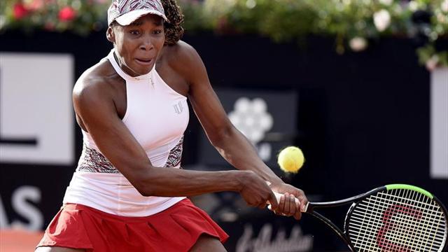 Wozniacki y Venus Williams se estrenan con victoria en Roma