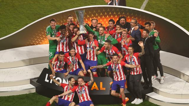 Les Madrilènes ont soulevé la coupe après avoir offert une haie d'honneur aux Marseillais