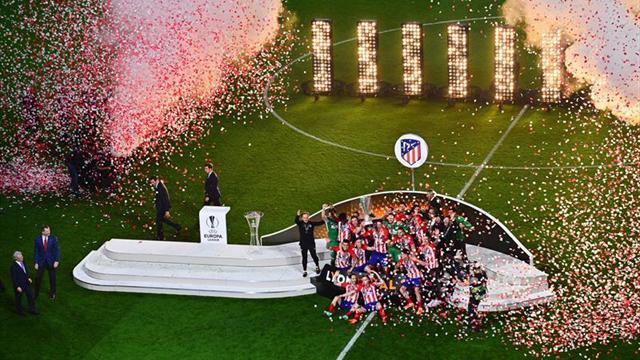 Rajoy felicita al Atlético de Madrid y a su afición por la Liga Europa
