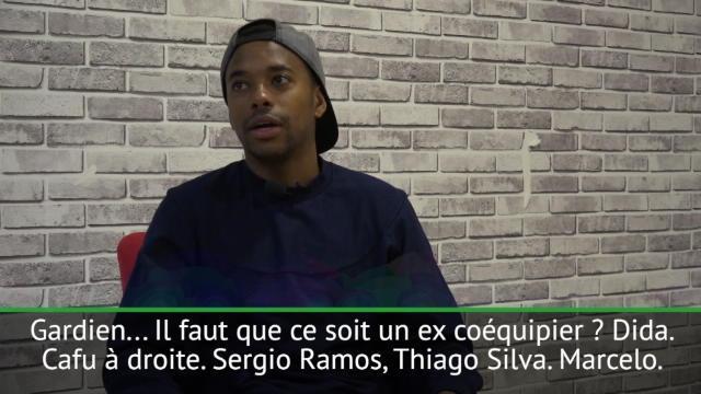 Interview - Robinho : Neymar, Thiago Silva et Ronaldinho dans le onze de rêve de Robinho