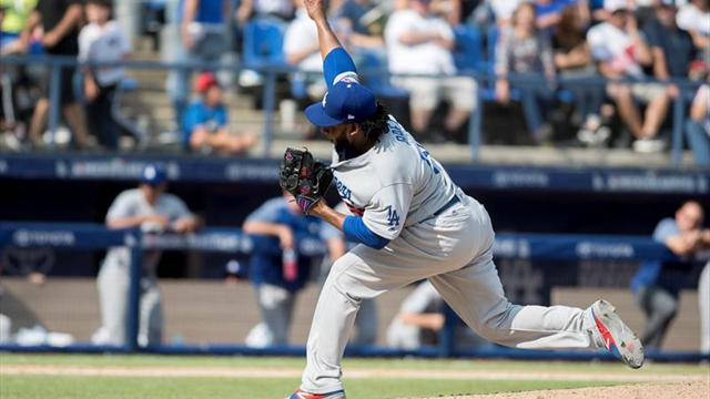 6-5. Bour y Realmuto pegan jonrones contra los Dodgers