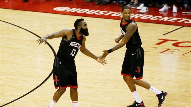 Rockets-Warriors: Gordon y James igualan la final del Oeste (127-105, serie 1-1)