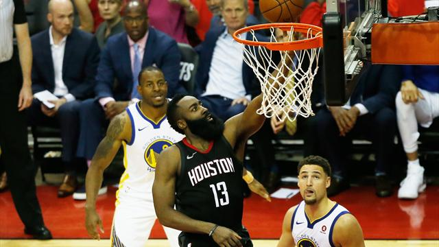 Nba, Golden State vince a Houston