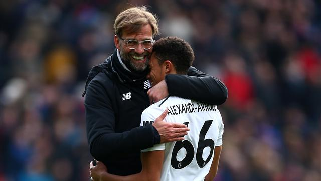 Klopp broke news to Alexander-Arnold on dream England call-up