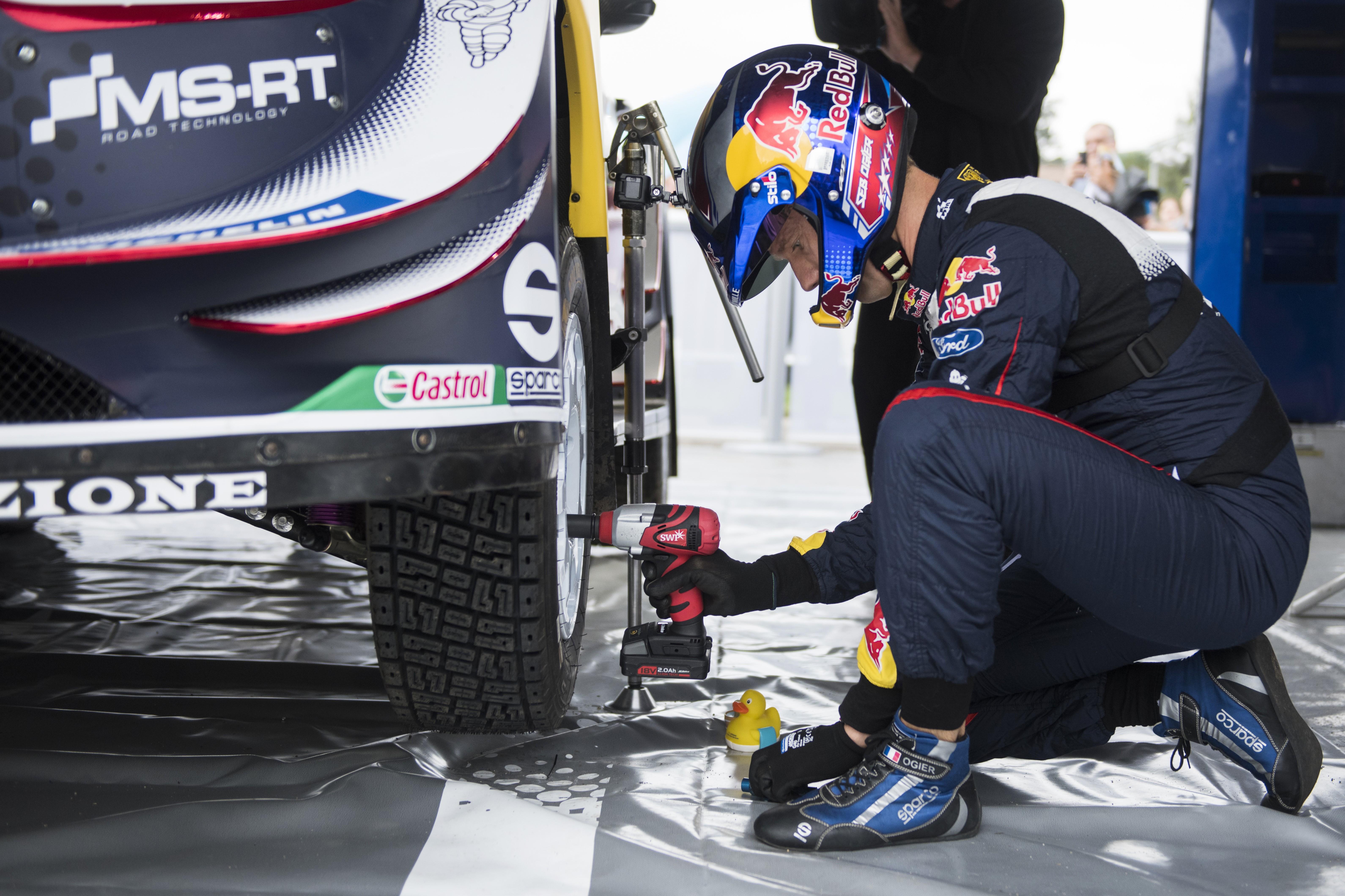 Sébastien Ogier (Ford WRT) au Rallye d'Argentine 2018
