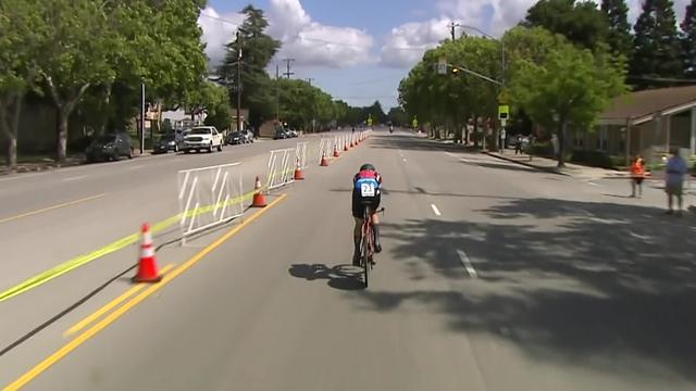Tour de California: Tejay Van Garderen ganó la contrarreloj y se coloca como líder de la carrera
