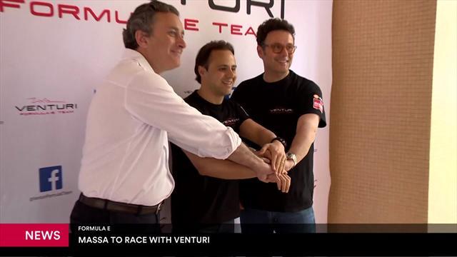 Felipe Massa tekent contract in Formule E