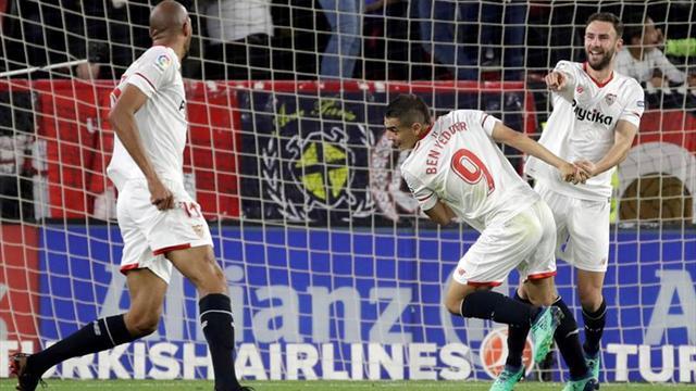 El Sevilla sigue los entrenamientos con rotaciones de jugadores de la cantera