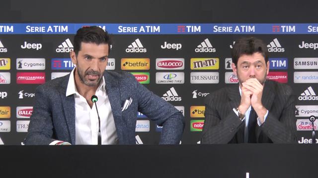 """Agnelli: """"Szczesny difenderà la porta della Juve l'anno prossimo: a Buffon dico grazie"""""""