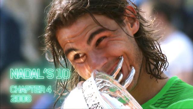 Roland Garros: El camino de Rafa Nadal en 2008