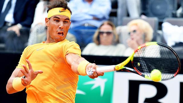 Nadal bate sin problemas a Shapovalov y se verá con Fognini en cuartos de final (6-4 y 6-1)