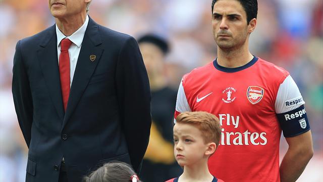 Arsene Wenger endorses Mikel Arteta as potential Arsenal successor