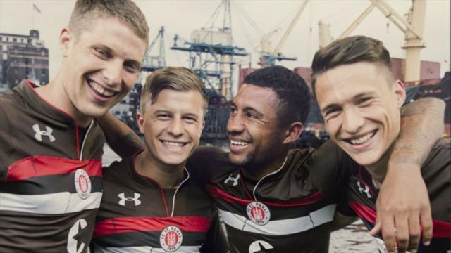 St. Pauli setzt mit neuem Trikot ein Zeichen