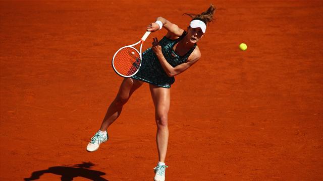 Parmentier écarte Cornet au 2e tour — Roland-Garros