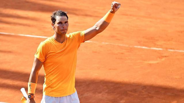 Masters 1.000 Roma, Nadal-Shapovalov: Una historia muy diferente en tierra (6-4 y 6-1)