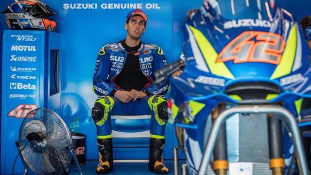 """Rins, dos años más con Suzuki, asegura que """"es una moto ganadora"""""""