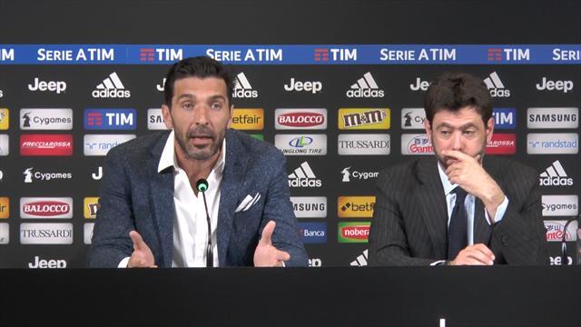 """Buffon: """"Madrid? Ero dilaniato nell'animo, non potevo che dire quelle cose"""""""