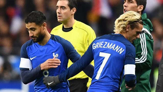 Мбаппе и Фекир – в заявке сборной Франции на ЧМ-2018. Ляказетт и Марсьяль – в дополнительном списке