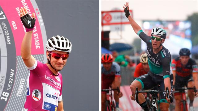Who will win the epic Giro sprint battle?