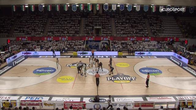 Highlights: gara 3 Dolomiti Energia Trentino-Sidigas Avellino 88-80