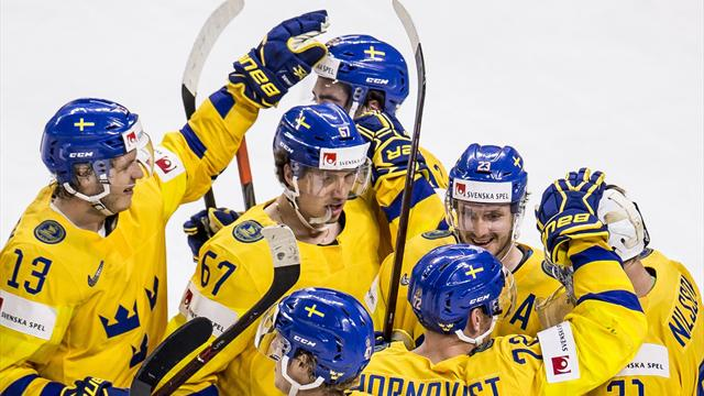 Сборная Швеции выиграла чемпионат мира