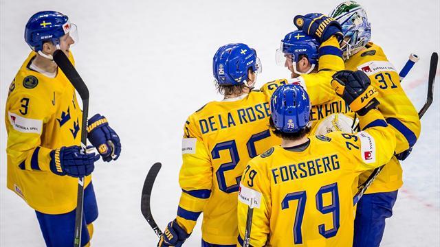 La Suède, tenante du titre, se qualifie pour les demi-finales