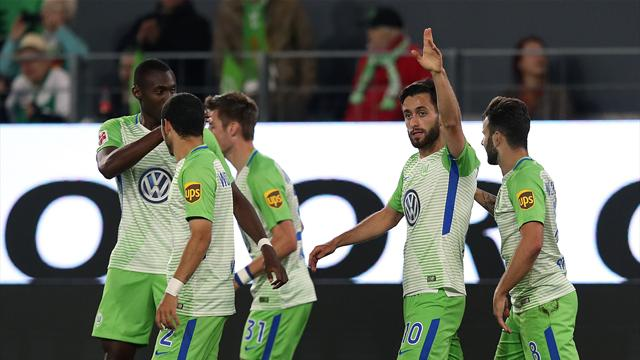 Wolfsburg in playoff driving seat after 3-1 win over Kiel
