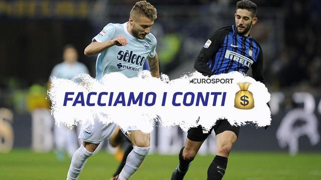 Facciamo i conti: Lazio-Inter, la Champions vale almeno 40 milioni di euro