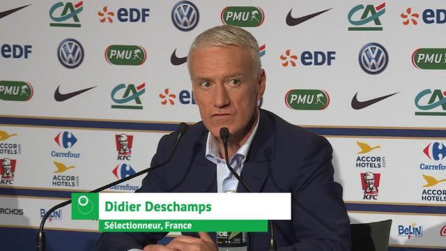 Bleus - Deschamps : ''Un risque pour Mendy''