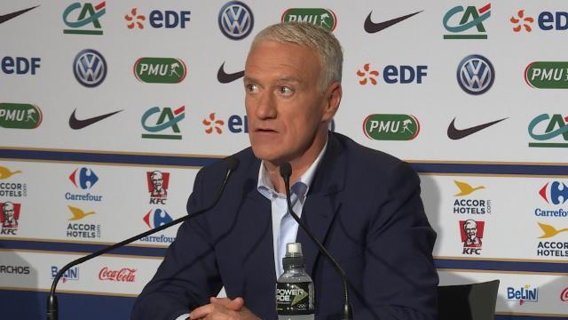 """Deschamps : """"Les performances de Rabiot en Bleu ne sont pas du même niveau que celles au PSG"""""""