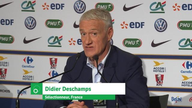 Bleus - Deschamps laisse entendre que Payet était bien dans la liste avant sa blessure