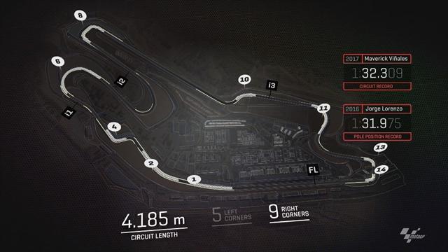 Hier ist Vorsicht geboten: Der Blick auf die Strecke in Le Mans