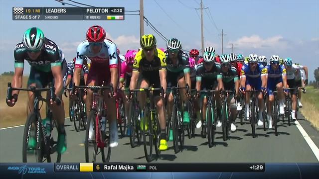 Kittel und Cavendish ausgebremst, Sturz im Finale, Sprint mit Sagan: Die Highlights der 5. Etappe